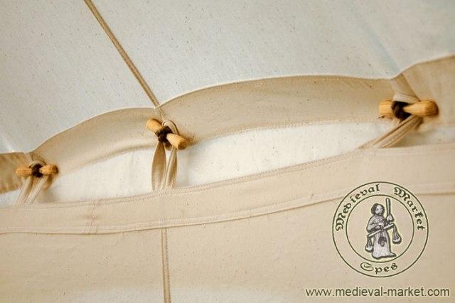 medieval market attacchi interni per il telo verticale