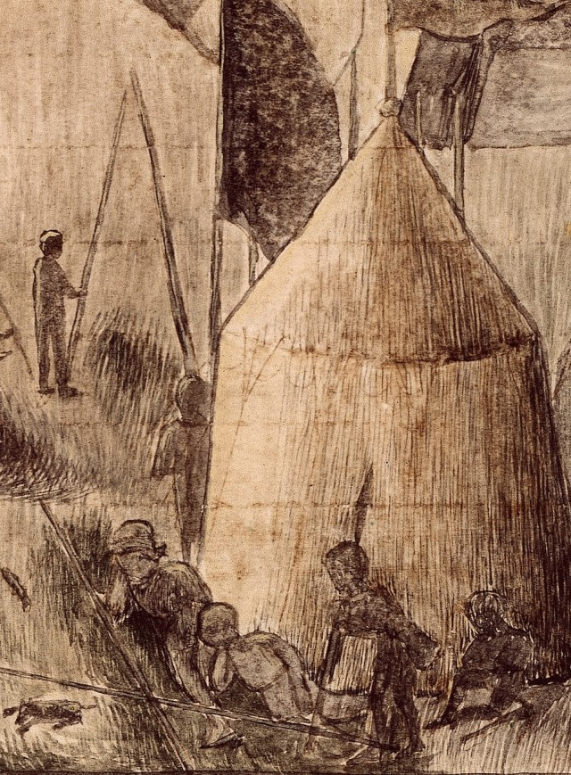 RC-C-07085 folio 15 recto Assedio di Populonia - dettaglio 1