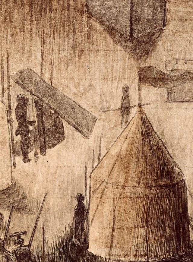 RC-C-07085 folio 15 recto Assedio di Populonia - dettaglio 2