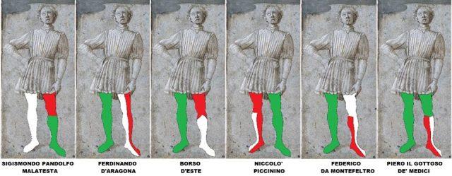colori calze alla divisa